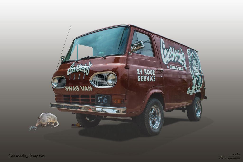 Gas Monkey Swag Van