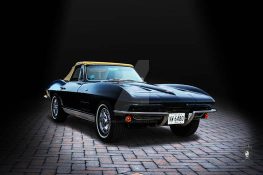 1963 Corvette Convertible Brick