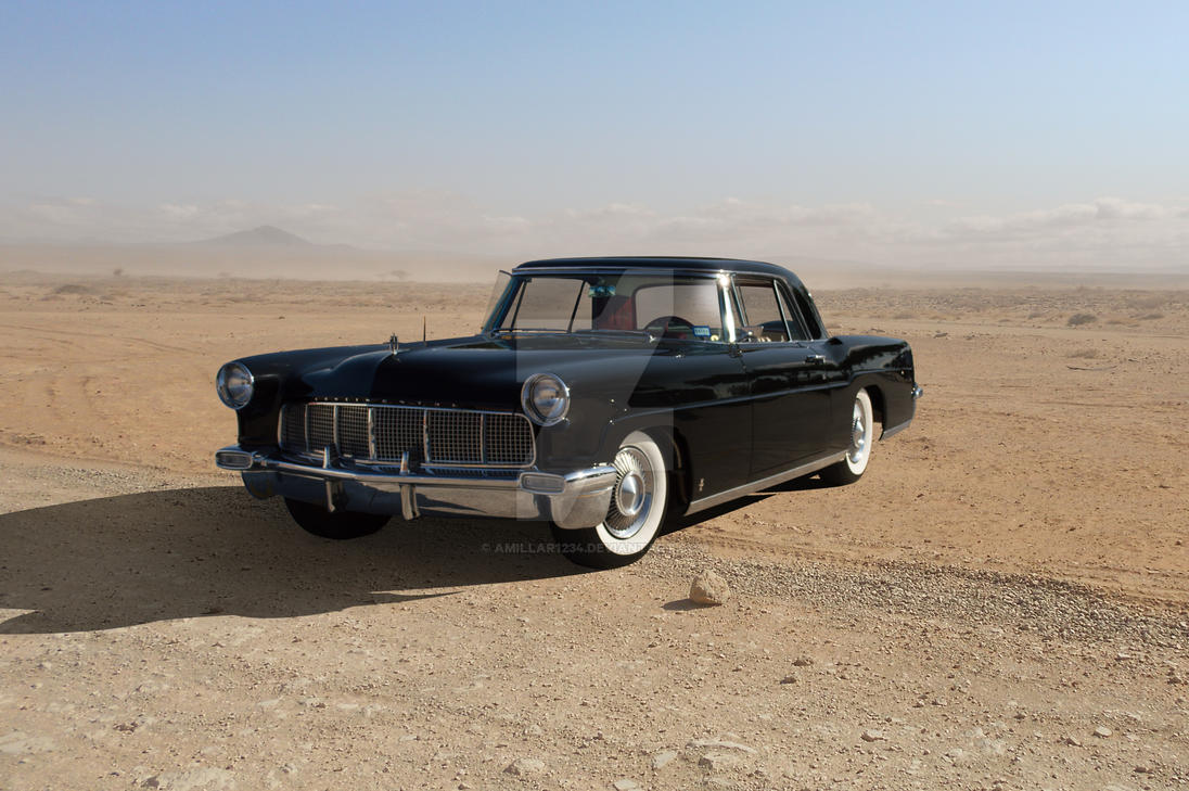 1956 lincoln continental mark ii 2 door coupe by. Black Bedroom Furniture Sets. Home Design Ideas