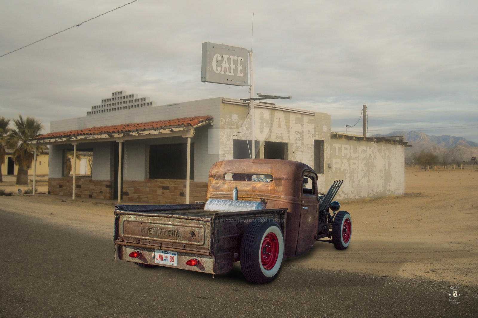 Rusty International Truck Parts by amillar1234 on DeviantArt