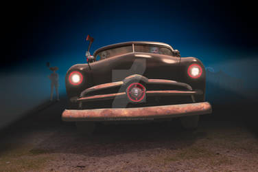 Killer Clowns In A 49 Ford