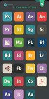 Flat Adobe CC iCons 2016