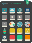 Flat iCons Devices 2016