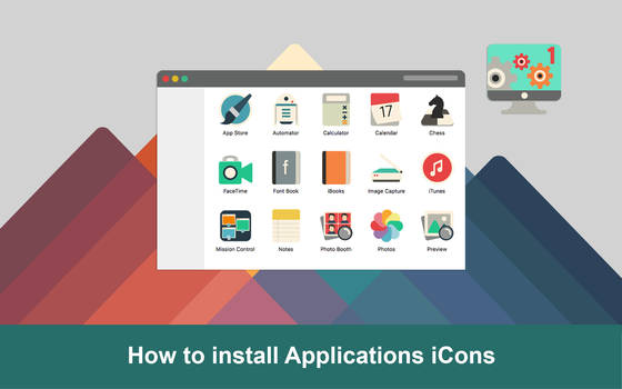 How to install applications icons iConadams