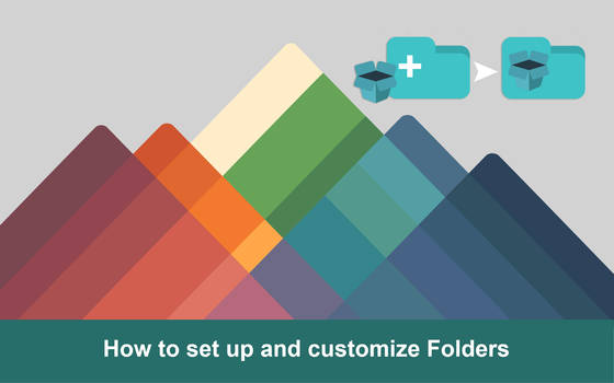 How to set up and customize Folders iconadams