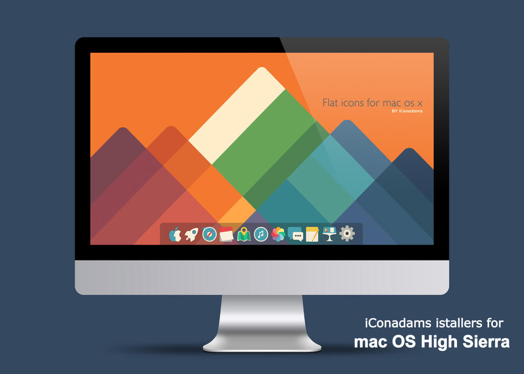 how to change icon on mac high sierra