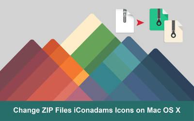 FREE Change ZIP File iConadams Icons on Mac OS X