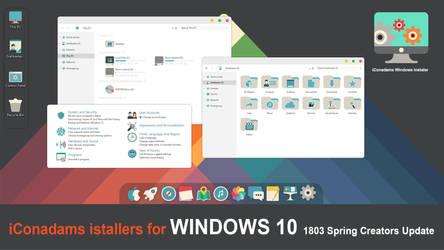 iConadams Windows iConpack instaler