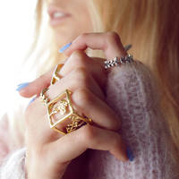 Jess x square and laurel rings