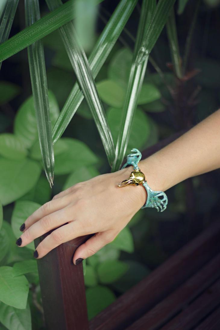 Moose-bracelet by Shape-hunter