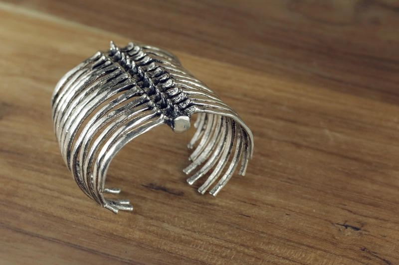 Mafia Rib Cage Bracelet by Shape-hunter