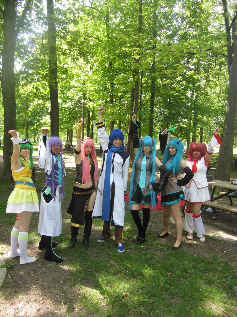 Vocaloid Group 02 by KyuProduction