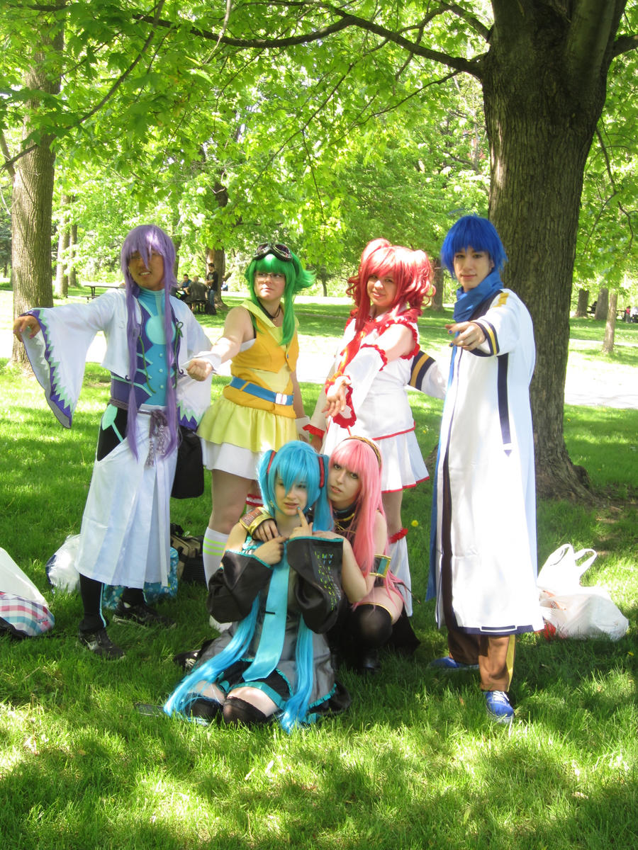 Vocaloid Group 01 by KyuProduction
