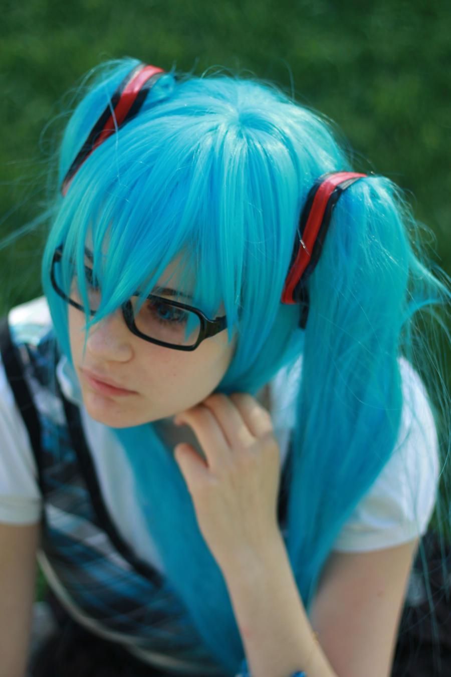 Student Miku 05 by KyuProduction