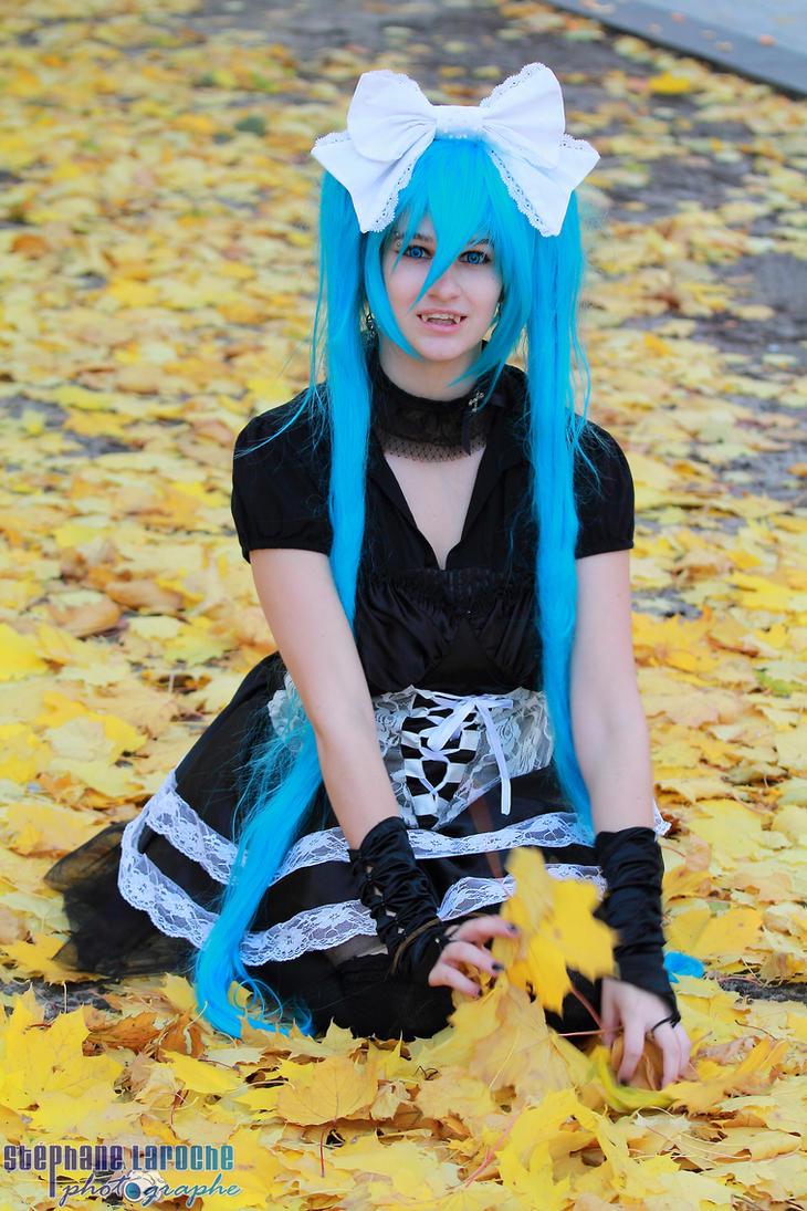 Vampire Miku 11 by KyuProduction