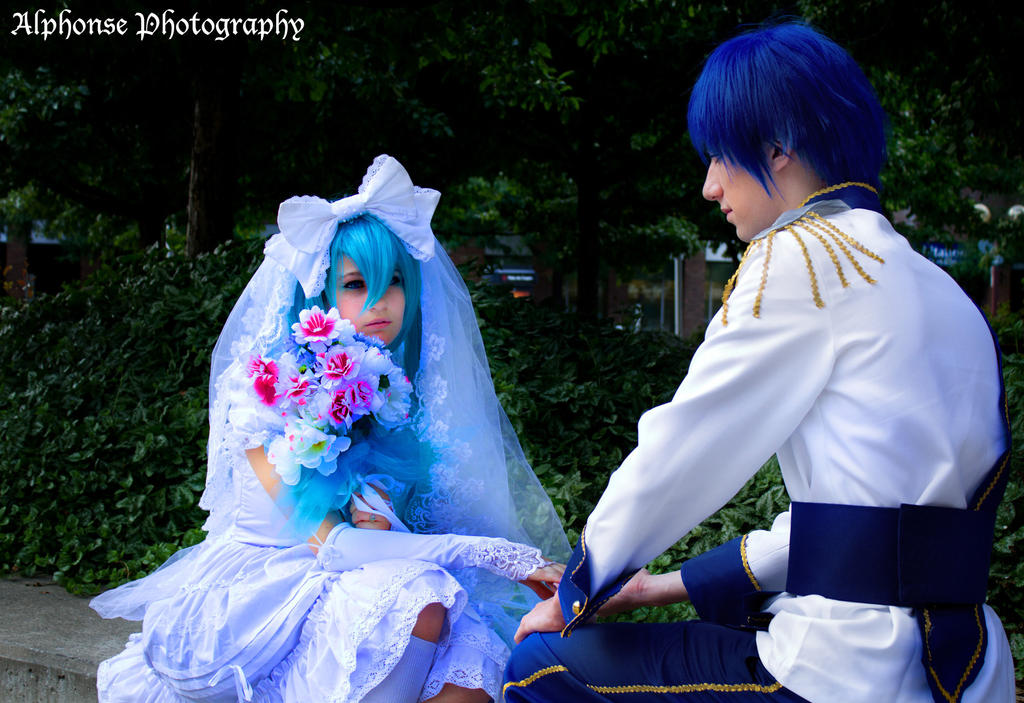 Wedding Hatsune Miku 03 by KyuProduction