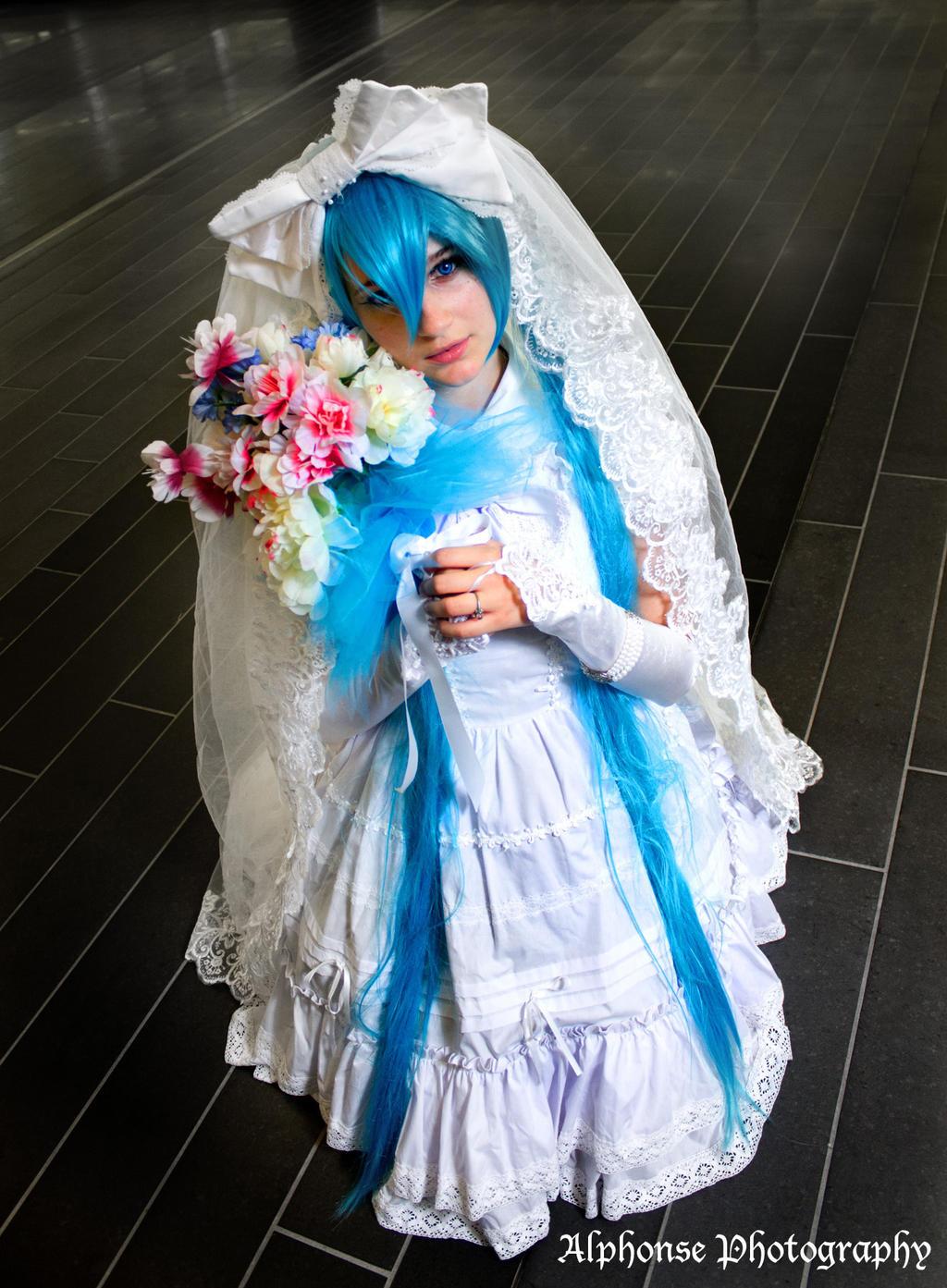 Wedding Hatsune Miku 07 by KyuProduction