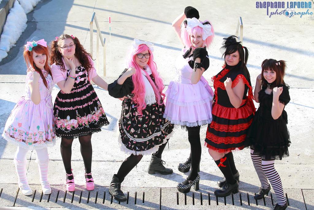 Lolita Group 02 by KyuProduction