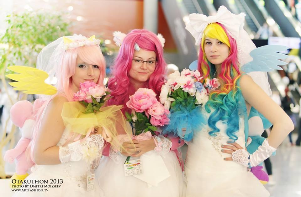 Wedding My Little Pony Otakuthon 2013 by KyuProduction