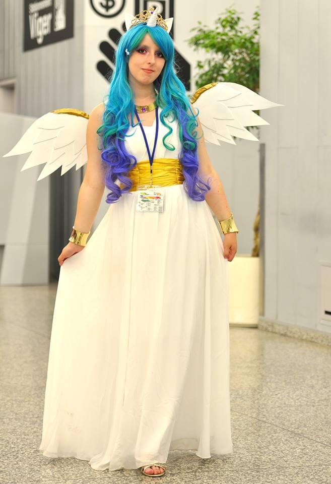 Princess Celestia Otakuthon 2013 by KyuProduction