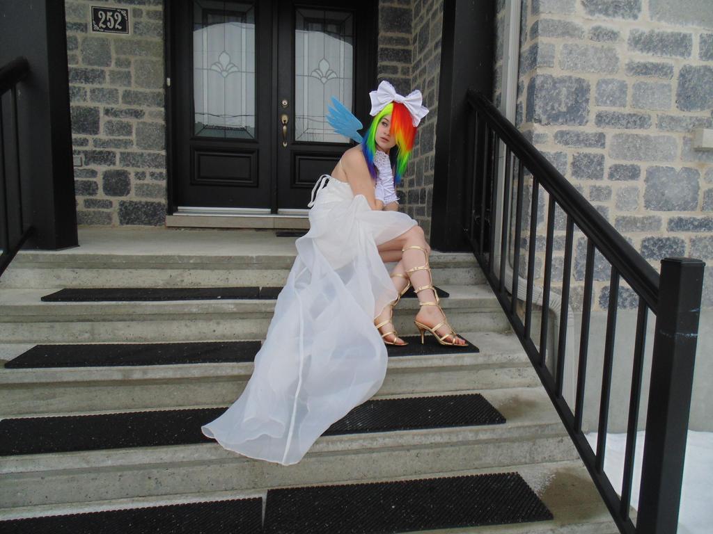 Wedding Rainbow Dash by KyuProduction