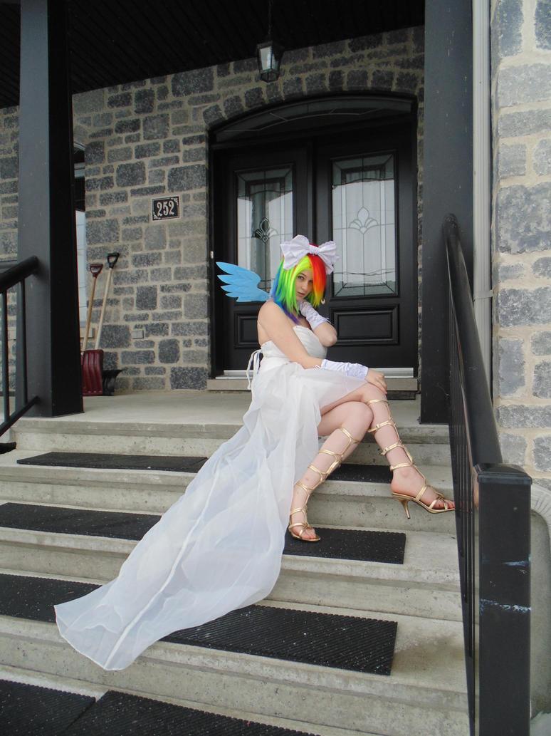 Wedding Rainbow Dash 02 by KyuProduction