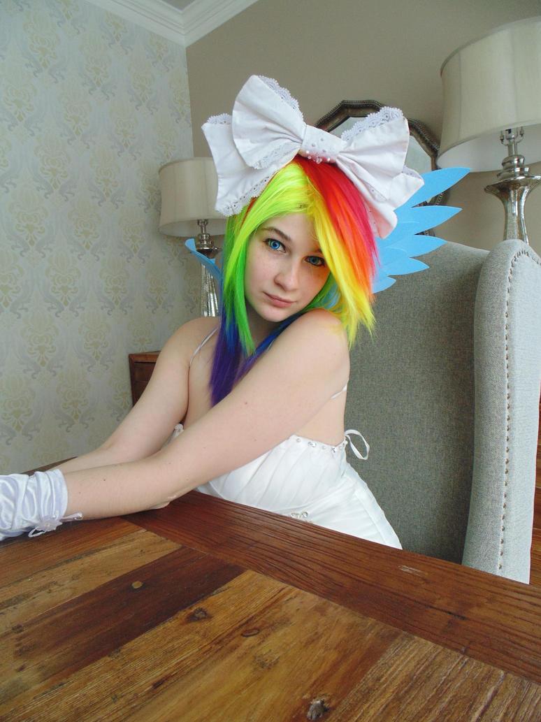 Profil Rainbow Dash Wedding  02 by KyuProduction