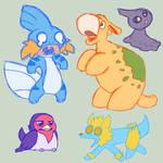 Sapphire Team Scribbles