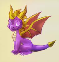 Spyro by Draco-Digi