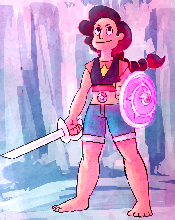 Stevonnie! Also on Tumblr bumblebeerosey.tumblr.com/post…
