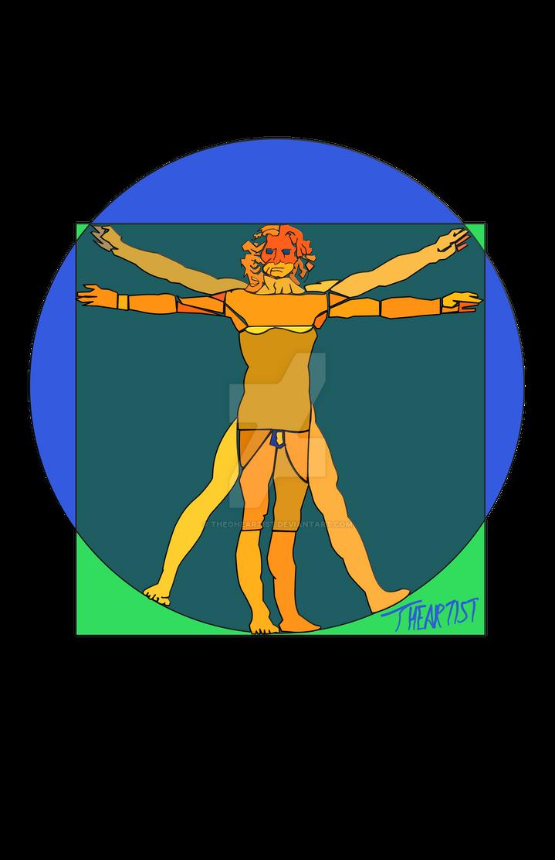 Vitruvian Stain
