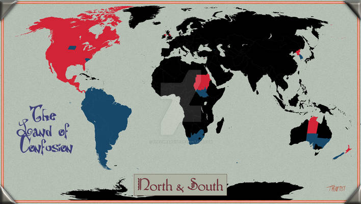 Land of Confusion: North and South