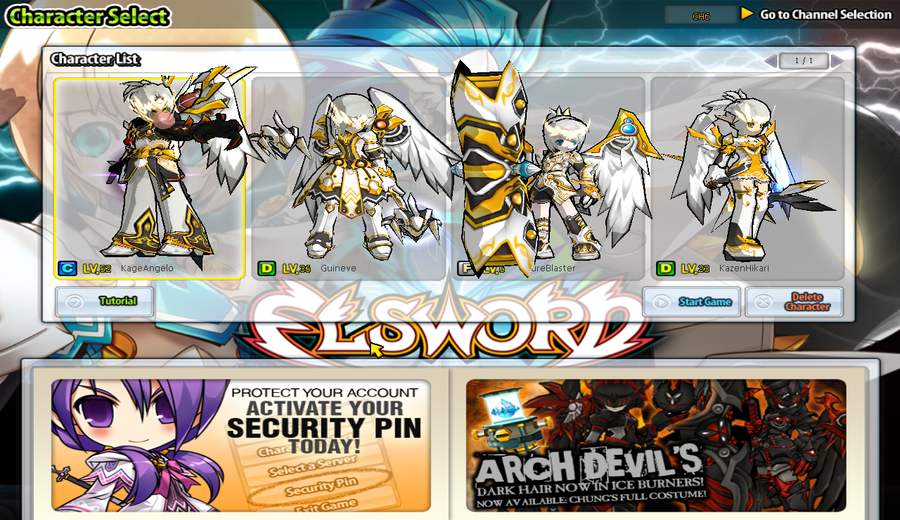 [Elsword] ArchAngel costume event by ClairSH