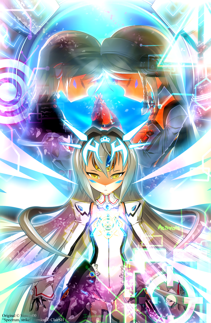 [Elsword] Spectrum, strike! ~Kokoro wo Tozase~ by ClairSH