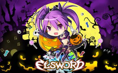 [Elsword] Halloween wide-wall (2014)