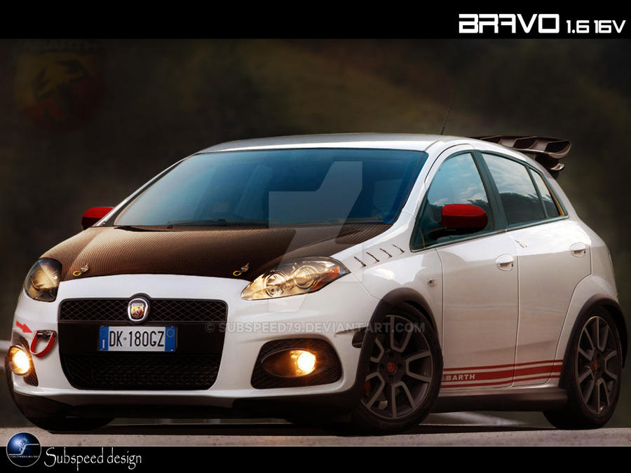 fiat bravo abarth by subspeed79 on deviantart. Black Bedroom Furniture Sets. Home Design Ideas