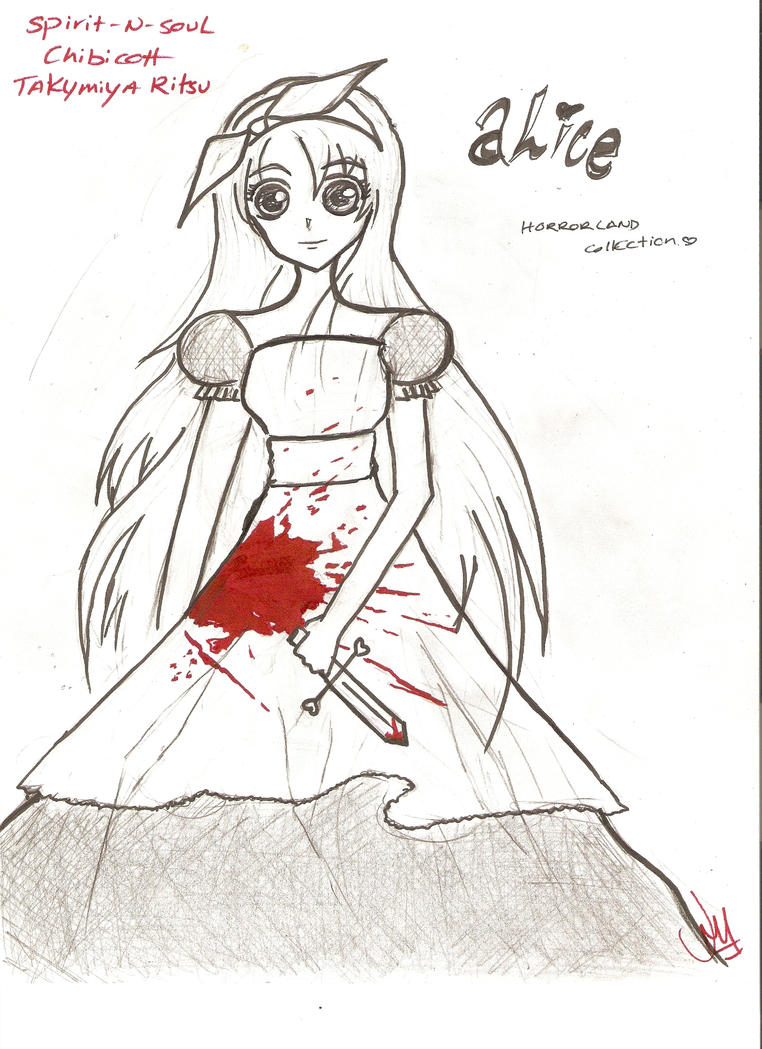 Rit'zz-chan no Garrou~ <3 Alice_in_horrorland_by_spirit_n_soul-d32rupo