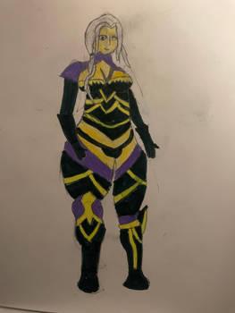 Carmilla in Nohrian Armor