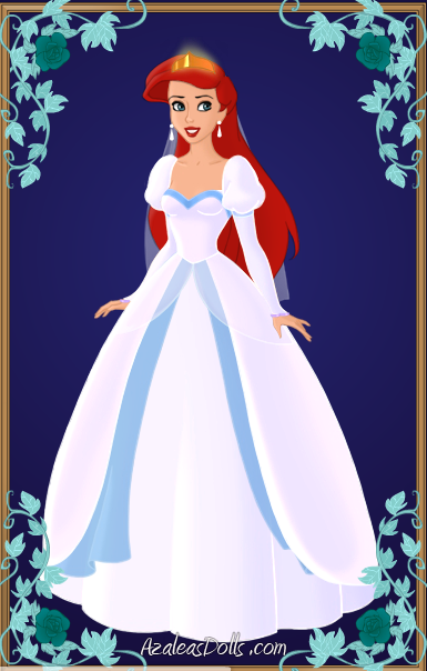 Ariel\'s Wedding Dress by tinkerbell52589 on DeviantArt