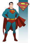 Classic Superman by phthaloblue86