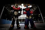 Ufo Robot Grendizer and Mazinkaiser