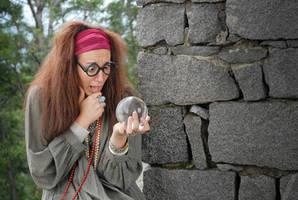 Prof. Sybill Trelawney by AleSelene