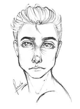 semi realistic sketch~