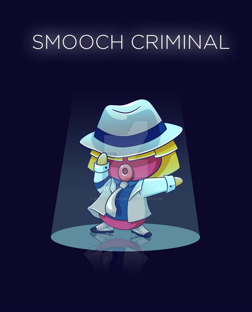 Smooch Criminal by watermelonium
