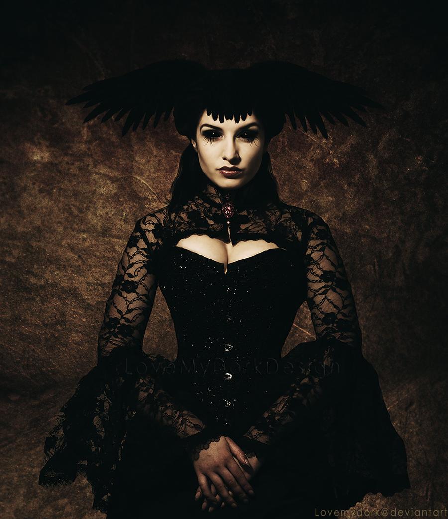 Portrait of a Demon by lovemydork