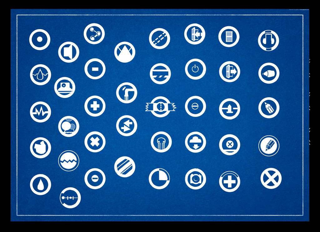 blueprint icon pack by stvolko