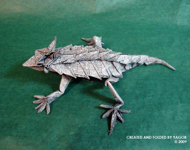 Horned Lizard by YAGGOB