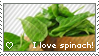 I love spinach Stamp by Blind-Doe