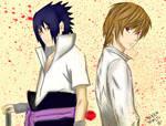 + Sasuke Uchiha Light Yagami +