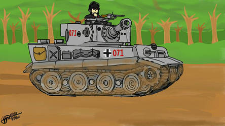 Luchs in his Tiger